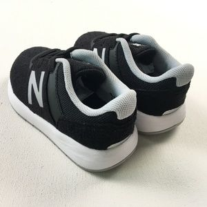 9e062089f21d New Balance Shoes - New Balance Toddler Baby Kids KA24BSI Black White